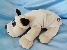 """Plush stuffed large 17"""" Spotted 1993 Pound Puppy with noise"""