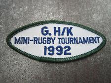 Mini Rugby 1992 Sport Cloth Patch Badge (L13K)