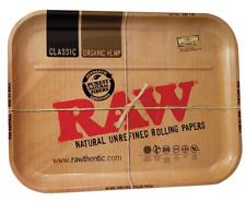 Raw 1970's Style Metal Rolling Tray 34cm X 27cm - UK