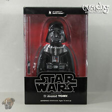 Star Wars Medicom 400% Kubrick Darth Vader Figure Removable Helmet Tomy 2006