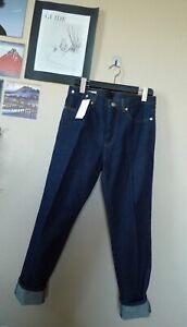 New With Tags Dries Van Noten Mid Rise Perry Indigo Denim Jeans 28