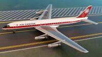 Aeroclassics ACCFTJK Air Canada DC-8-43 CF-TJK Diecast 1/400 Jet Model + GSE Set