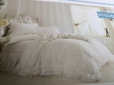 Simply shabby chic ruffle Lace duvet cover set full queen Rachel Ashwell F/q