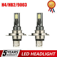 2x H4 LED Headlight Kits 110W 20000LM FOG Light Bulbs 6000K Driving DRL Lamps @