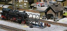 FALLER 120139 Magazzino con attrezzi pulizia caldaie di locomotive H0 1:87