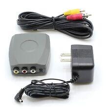 RF Modulator - RCA / Composite A/V -to- RF / Coax / Coaxial - RCA Converter Kit