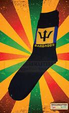 Barbados Bandiera Blu Giallo Nero Calzini A Maglia radici & cultura Rasta