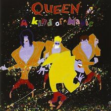 QUEEN - A KIND OF MAGIC: DELUXE EDITION 2CD ALBUM (2011 DIGITAL REMASTER)