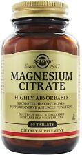 Magnesium Citrate, Solgar, 60 tablet