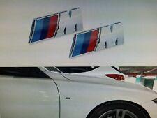 "BMW EMBLEMAS M PARA LATERALES ""ALETAS"" LOGO M"