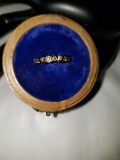 Ladies 10KT Yellow Gold .20 Carat Champagne Diamond Swirl Stackable Bands NWOT