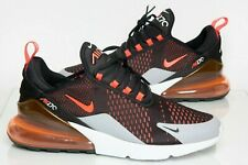 Men's Nike Air Max 270 Trainers Size 11 Black/Crimson New & Boxed Free Postage