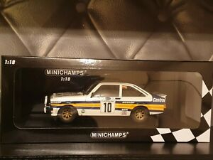 1/18 Minichamps Ford Escort RS 1800 Acropolis Rally Winners 1980 Rothmans