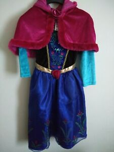 Disney Anna Frozen Dressing Up Costume 5 To 6 Years