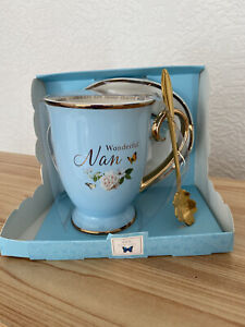 Nan Tea Cup And Spoon New In Packaging