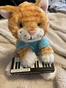 RARE Thinkgeek Play Me Off Original KEYBOARD CAT Animatrontonic Plush SEE VIDEO!