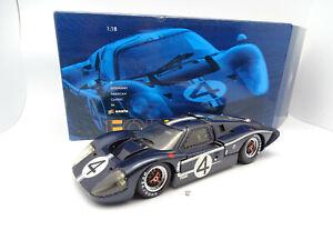 Exoto 1/18 - Ford GT40 MKIV N°4 Le Mans 1962