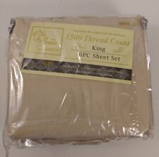 Sweet Home 6 Piece 1500 Thread Count Egyptian Quality Deep Pocket Bed Sheet Set