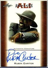 2010 Leaf; Ali Associates Rubin Carter Autograph AAU-5