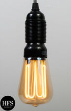 7W E27 Dimmable Low Energy Squirrel Cage CCFL Filament Bulb