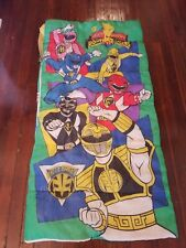 Vintage 1995 Saban Mighty Morphin POWER RANGERS Sleeping Bag by