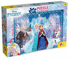 Lisciani Giochi Disney Frozen Puzzle Double Face 250 Pezzi 52981 Idea Regalo 6+