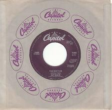 "45 Rpm - The Beatles - Get Back b/w Don't Let Me Down - 1978 Purple 7"" single"