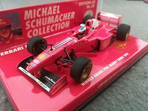 Michael Schumacher 1/43 Minichamps Ferrari F310B Magny Cours 1997 Ltd Ed  Nr 35