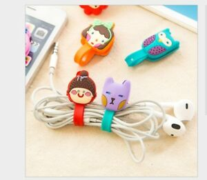 Cable Clip Desk Tidy Organiser Wire Lead Cord Lead USB Charger Holder