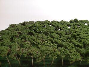 100 NEW HANDMADE Z SCALE TREE FOR TRAIN LAYOUT FAIRY DIORAMA GREAT 4 N HO S O &