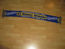 Fan Schal SG Blaues Wunder 1990 Hannover top Zustand Rarität