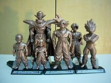 bandai dragonball HG 20 set 6 GASHAPON figure figura dragon ball bronce bronze