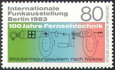 Germany (Berlin) 1983 TV/Broadcasting/Radio/Television/Inventors 1v (n23582)