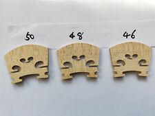 4 PCs Best Quality VIOLA Bridges European Wood 46mm & 48mm & 50mm totaly 12pcs