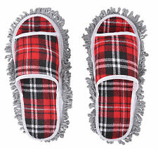 New Dusting Dust Mop Room Cleaning Slipper Shoes Floor Cleaner Slipper