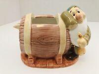VTG The Disney Store Snow White And The Seven Dwarfs China Ceramic Creamer -Flaw