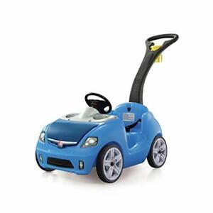 Ride On Push Car, Blue