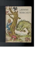 Märchen der Brüder Grimm - Buchschmuck Gisela Werner - 1959