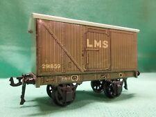BASSETT LOWKE O Gauge 1931 Series L.M.S. BOX VAN Very Good Example 'A', Spur 0