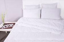 4-Jahreszeiten-Steppbett Bettdecke-Set 2 Decken 135x200 cm Microfaser Bett Duo