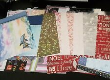 Joblot of create and craft, Hunkydory and Kanban Toppers And Cardstock