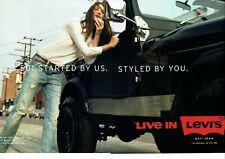 Publicité Advertising 109 2014  Levi's jeans 501   live in Levi's ( 2 pages)