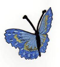 ae63 Schmetterling Falter Butterfly Aufnäher Applikation Bügelbild 7,1 x 7,0 cm