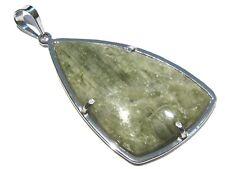 green apatite pendant silver 925% ciondolo apatite