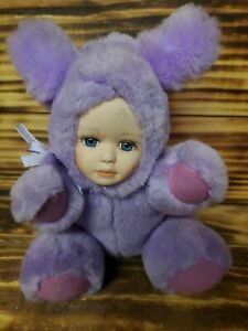 RARE Babes in the Wild Series,  Plush Toy, Porcelain Face Mouse
