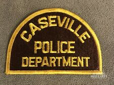 Early, CASEVILLE Michigan Police Patch (22303)