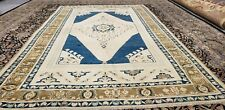 Masterpiece Antique Cr1930-1939's Muted  Colors,6x9ft,Wool Pile Oushak Rug