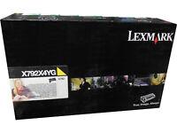 Lexmark X792X4YG X792X2YG X792X1YG Yellow Extra High Yield Toner Cartridge OEM *