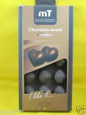 New MT 100% Silicone Chocolate Molder-Heat & Cold Resistant-Shell Shape