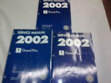 2002 PONTIAC GRAND PRIX SERVICE MANUAL 3 VOLUME SET